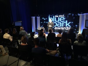 Studio audience at the 2015 Blue Spark Awards Gala