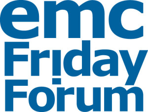 Friday Forum blue logo